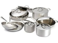 #holidaycooking - The kids grew up and moved out and now my pans are safe - time for the 14-pc. Master Chef 2 (MC2) Cookware Set by All-Clad at Cooking.com