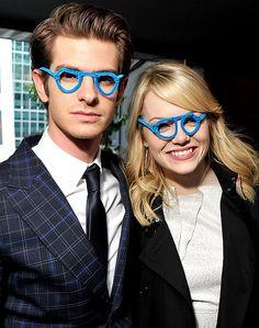 Andrew Garfield and Emma Stone!