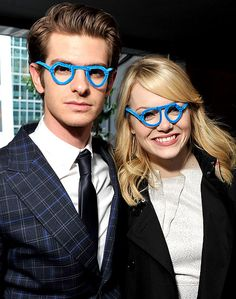 Andrew Garfield and Emma Stone!