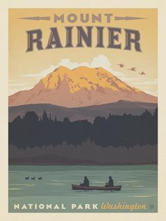 Anderson Design Group – American National Parks – Mount Rainier National Park