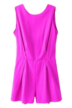 Love the color of this romper