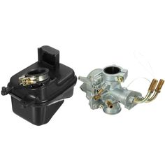 Carburetor and Air Filter Box For Yamaha PEEWEE PW50 PY50