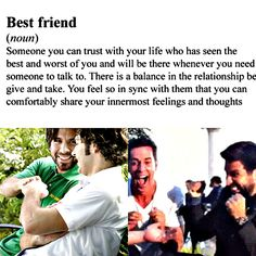 This friendship is what anyone wants. <3