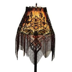 Gothic Lamp Shade Cover, Victorian Trading Co. Lace Skull, Victorian Trading Company, Goth Home Decor, Gothic Furniture, Gothic House, Victorian Gothic Decor, Vintage Gothic, Victorian Lamps, Vintage Style