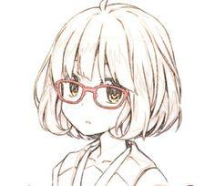 164 Best Anime Girls Glasses Images In 2017 Anime Art Manga