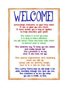 free printable and customizable welcome back to school letters first day of school pinterest school classroom and back to school