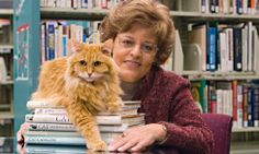 Dewey the Library Cat Spawns Book Series  --  The story of Dewey Readmore Books, the orphaned cat who for 19 years charmed his way into the hearts and laps of patrons at the Spencer (Iowa) Public Library, may have more than nine lives