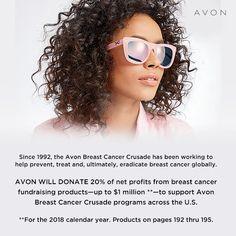 #beatbreastcancer #Supportavonsbreastcancercrusade #savethetatas  https://www.avon.com/?s=ShopTab&rep=crysmiller62035&utm_medium=rep&c=MB_Pinterest&utm_source=MB_Pinterest