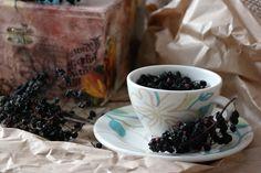 Sunflower - u mnie na wsi: Suszone owoce czarnego bzu na zdrowie