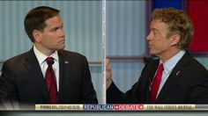 11/10/15 - Marco Rubio and Rand Paul got heated tonight at the Fox Business Network-Wall Street Journal Republican debate on the topic of national security.