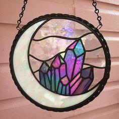 Sea Glass art Inspiration - - Stained Glass art On Bottles - Stained Glass art Nature - Stained Glass art Anime - Glass art DIY Creative Stained Glass Designs, Stained Glass Projects, Stained Glass Patterns, Stained Glass Art, Stained Glass Windows, Window Glass, Sea Glass Art, Glass Wall Art, Mosaic Glass