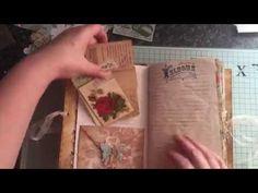Summer journal no 20 #junkjournaljunkies #summerjournalchallenge - YouTube