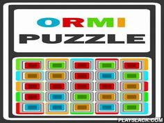 Ormi Puzzle  Android Game - playslack.com , Move colourful rectangle symbols on a board made up of slabs. Some slabs are created  uninterested colours. If you move the minimal on a same color slab it will disappear. For each disappeared minimal you get scores. With every move youe get method symbols on the screen. The aim of this Android game is to get as many scores as you can. If the whole board is filled with colourful symbols and you don't have accessible decisions game is over.
