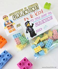 lego movie valentines day cards