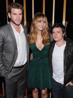 'Hunger Games' stars photos: Jennifer Lawrence, Liam Hemsworth, and Josh Hutcherson