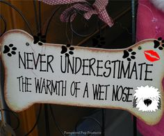 Never underestimate the warmth of a wet nose.