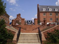 Stairway on the campus of the University of Maryland, College Park. http://www.payscale.com/research/US/School=University_of_Maryland_(UMD)/Salary