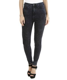 Calça Jeans Cigarrete Azul Escuro - cea