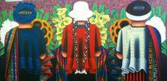 Huipiles colorido. Guatemala. Pedro Arnoldo cruz sunu.