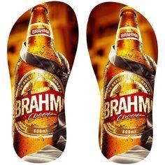 Estampa para chinelo Brahma 001027