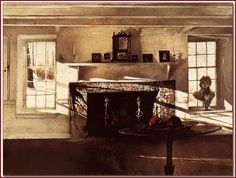wyeth paintings | andrew wyeth big room 1948 tempera on panel andrew wyeth american ...