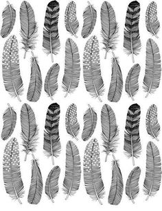 So many textural ideas with feathers!