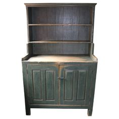 Multi Paneled Open Setback Cupboard, 19th Century | See more antique and modern Cupboards at http://www.1stdibs.com/furniture/storage-case-pieces/cupboards