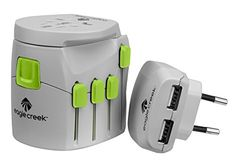 Eagle Creek USB Universal Travel Adapter Pro Quarry GreyStrobe -- Check out the image by visiting the link. Note:It is Affiliate Link to Amazon.