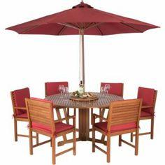 Peru 6 Seater Round Garden Furniture Set Limited Edition 640 x 480