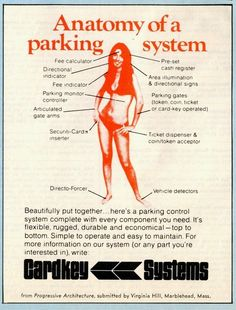 From Progressive Architecture.   15 Unbelievably Sexist Adverts From The 1970s Seriously!?