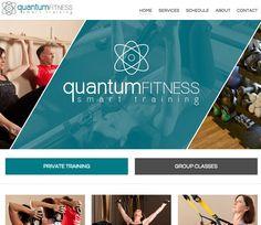 Quantum Fitness Gym Website Design
