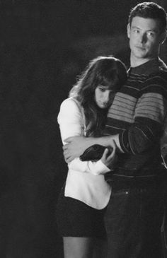 Finn & Rachel I love how real and genuine their love is on and off screen