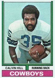 1974 Topps #95 Calvin Hill - EX-MT by Topps. $0.92. 1974 Topps Co. trading card in excellent mint condition, authenticated by Seller