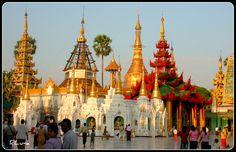 https://flic.kr/p/4kCW8K | YANGOON | ©Todos los derechos reservados. Pagoda Shwedagon