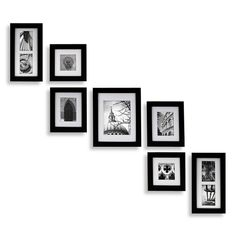 Create-a-Gallery Portrait 7-Piece Wood Frame Set - Black $79.99 (Bed, Bath, and Beyond)