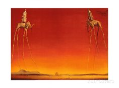 The Elephants, c.1948 Prints by Salvador Dalí at AllPosters.com