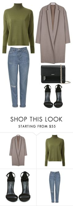 """""""Style #399"""" by maksimchuk-vika ❤ liked on Polyvore featuring Organic by John Patrick, Scanlan Theodore, Shoe Cult, Topshop and DKNY"""