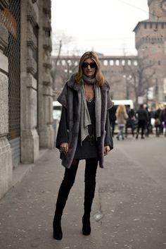 layered knitwear for autumn winter look #Sarah #Rutson on http://www.junejoonjaxx.com/