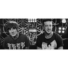 Oliver sykes and austin carlile ♡