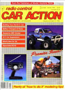 RC Car Action issue no. 1! I remember this edition