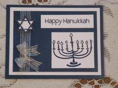 Hanukkah card using Matting Basics