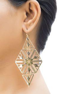 Aria Egyptian Drop Earrings | Only on saliyamohit.wooplr.com | Best Earrings Online