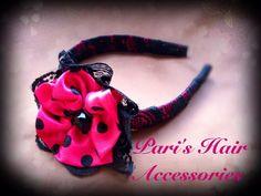 Interchangeable headband . Lace headband