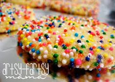 Image result for cookies with sprinkles