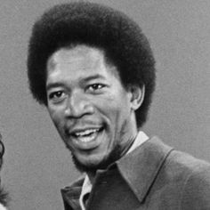 A young Morgan Freeman