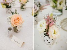 Flowers by Seventh Heaven Events - Wedding at Gants Mill  #seventhheavenevents