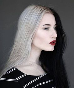 We've been seeing a lot of this new hair color trend. What do you think about #SplitHair? #HairTrend