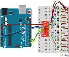 Example analog input circuit