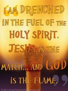John the Baptist prophesied of the first Pentecost when Jesus would baptize with the Holy Spirit and with fire (Matthew Spirit Of Truth, Holy Spirit, Spirit Quotes, Christian Life, Christian Quotes, Jesus Is Lord, Lord Lord, Holy Ghost, Christian Inspiration