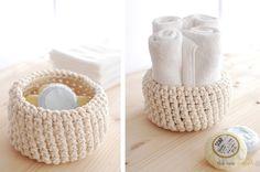 DIY: crochet bowl
